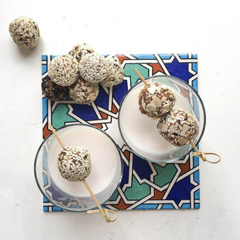 Medjool Dates & Tahini Energy Balls
