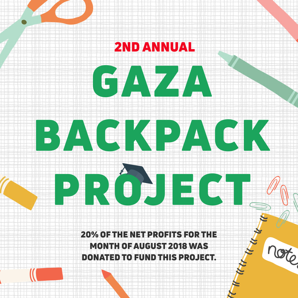 Gaza Backpack Project in Palestine
