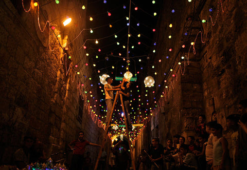 Palestine Ramadan Decorate Lanterns