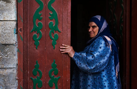 Palestinian Woman with Hijab