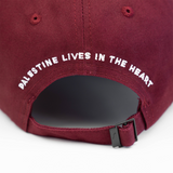 Palestine Lives in the Heart Cap