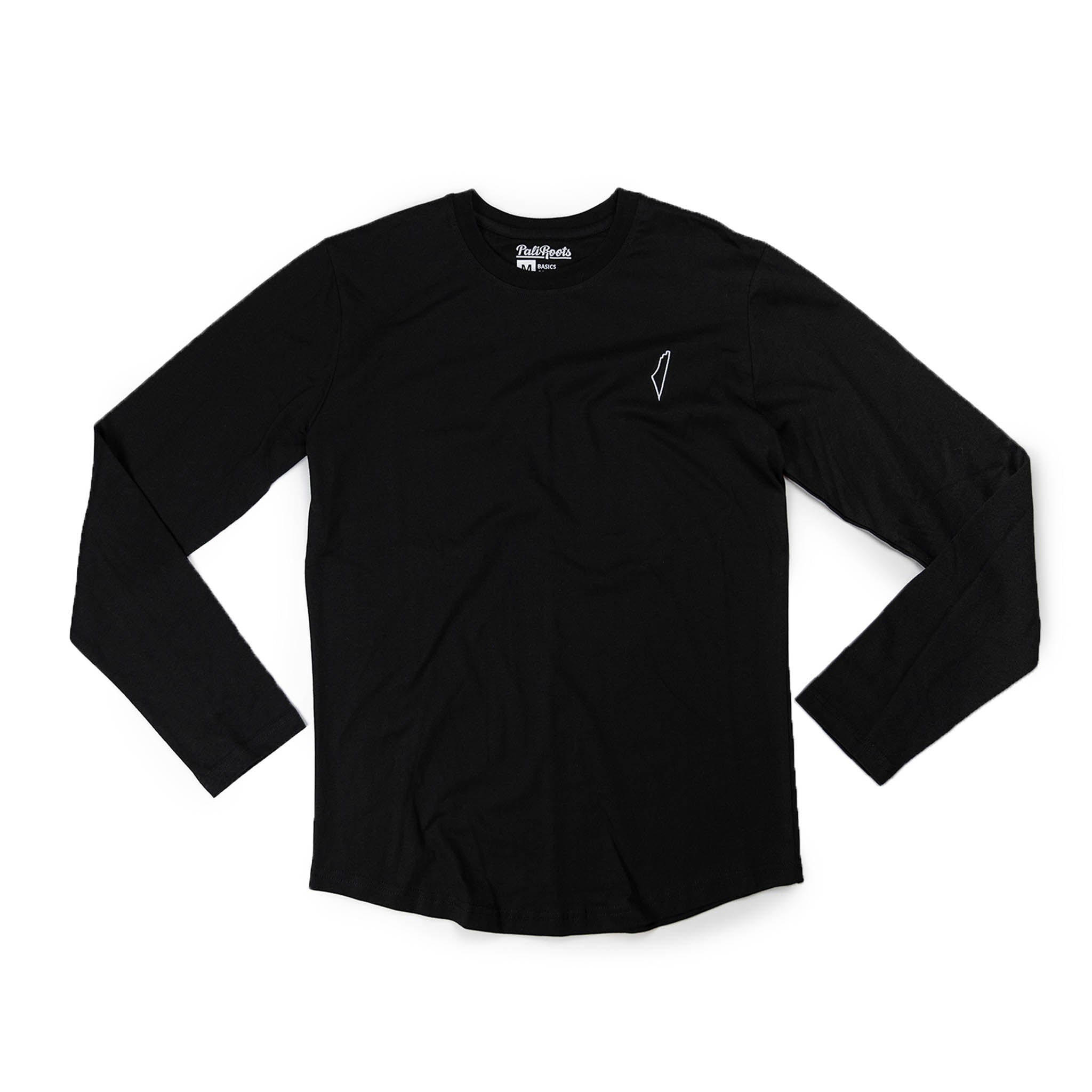 Black Basic Long Sleeve
