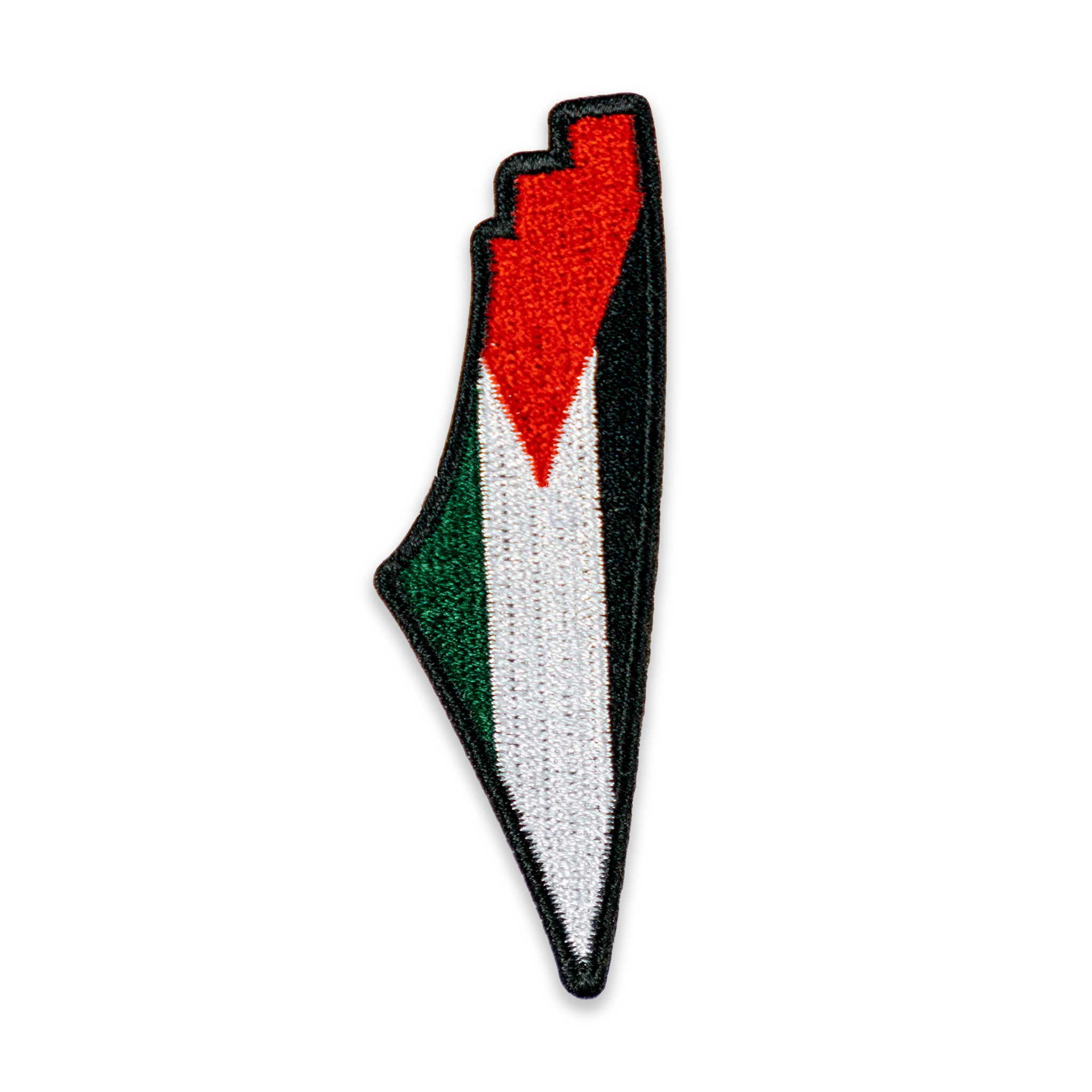 Palestine Map Flag Patch