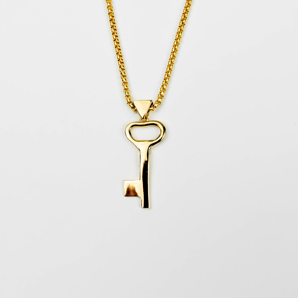 Right Of Return Gold Necklace