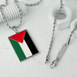 Palestine Flag Necklace