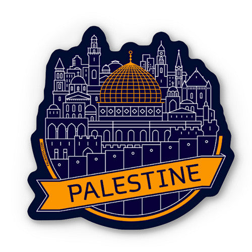 Jerusalem Sticker