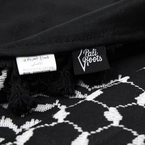 Midnight Black Hirbawi Keffiyeh