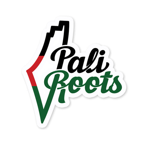 PaliRoots Logo Sticker
