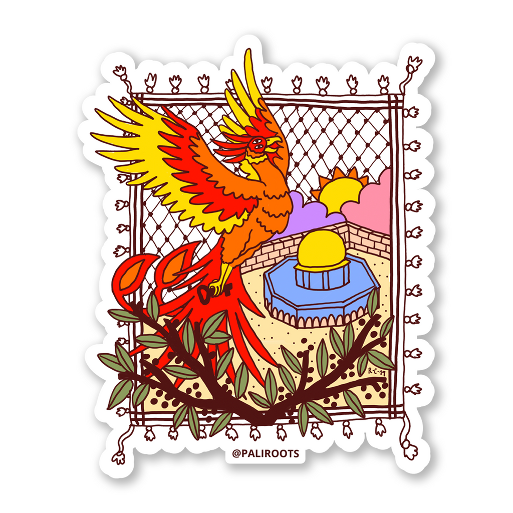 Phoenix Bird Sticker