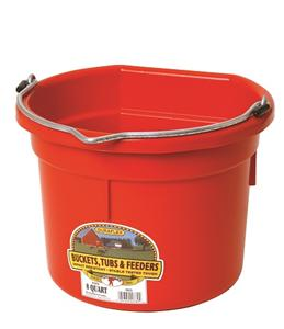 8 Quart Flatback Berry Bucket - [product_type} - Hamps Saddle & Tack