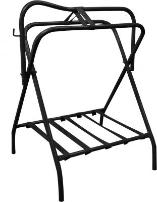 Folding Floor Saddle Rack (Western or English) - Hamps Saddle & Tack