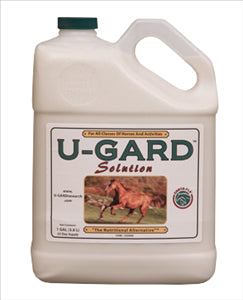 U-GARD SOLUTION GALLON - - Barn Supply - Barn Supplies - Hamps Saddle & Tack