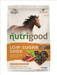 Nutrigood Low-Sugar Snax Carrot-Anise 4Ibs - - Barn Supply - Barn Supplies - Hamps Saddle & Tack
