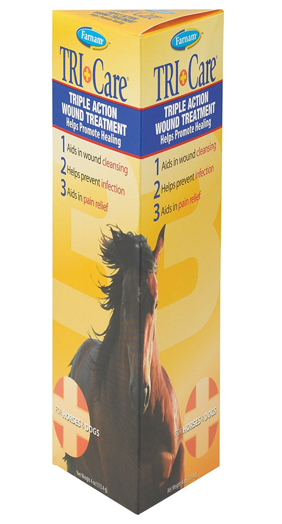 TRI CARE WOUND TREATMENT 4 oz - - Barn Supply - Barn Supplies - Hamps Saddle & Tack