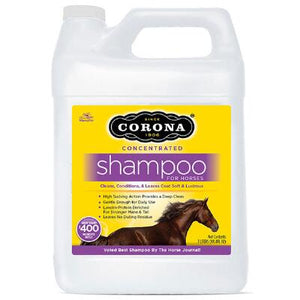 CORONA CONCENTRATED SHAMPOO GAL - [product_type} - Hamps Saddle & Tack