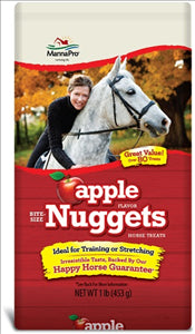 Apple Flavor Nuggets Horse Treats 1lb - [product_type} - Hamps Saddle & Tack