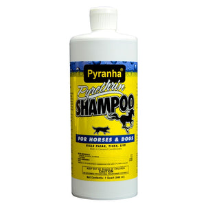 PYRANHA SHAMPOO 32OZ - - Barn Supply - Barn Supplies - Hamps Saddle & Tack