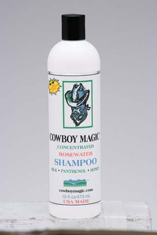 Cowboy Magic Rosewater Shampoo 16 oz - [product_type} - Hamps Saddle & Tack