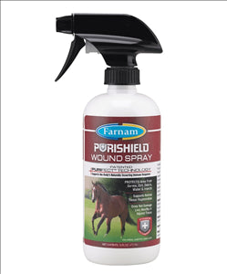 Purishield Wound Spray 16oz - - Barn Supply - Barn Supplies - Hamps Saddle & Tack