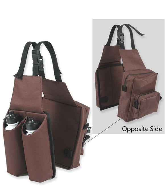 Combo Saddle Bag With Water Bottles - [product_type} - Hamps Saddle & Tack