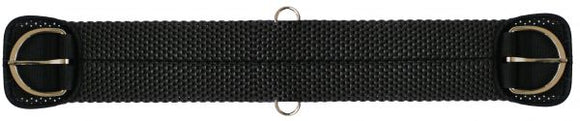 Showman waffle weave full wrapped neoprene girth - [product_type} - Hamps Saddle & Tack