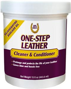 1 STEP LEATHER CLEANER & CONDITIONER - [product_type} - Hamps Saddle & Tack