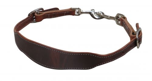 American Made Oiled Harness Leather Wither Strap - [product_type} - Hamps Saddle & Tack
