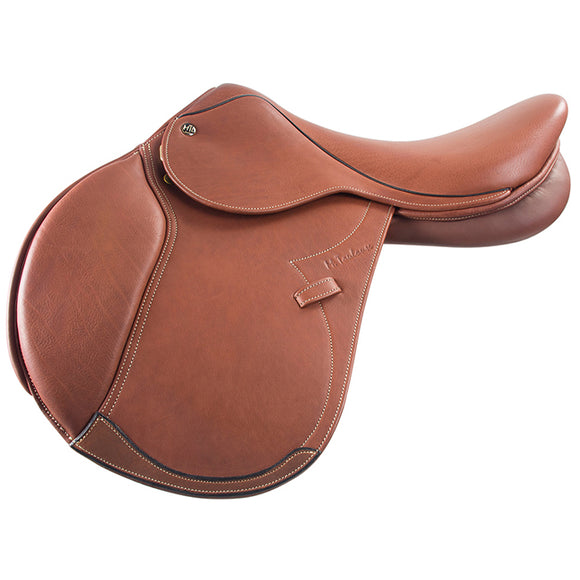 DENISSE CLOSE CONTACT SADDLE MEDIUM TREE LONG FLAP - [product_type} - Hamps Saddle & Tack