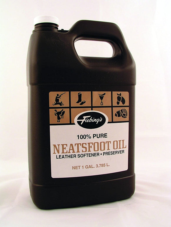 Fiebings 100% Pure Neatsfoot Oil - Hamps Saddle & Tack