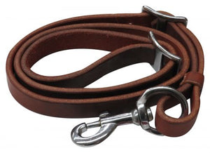 "3/4"" x 40"" Oiled harness leather tie down strap. - [product_type} - Hamps Saddle & Tack"