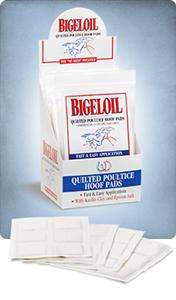 BIGELOIL HOOF POULTICE PADS - [product_type} - Hamps Saddle & Tack