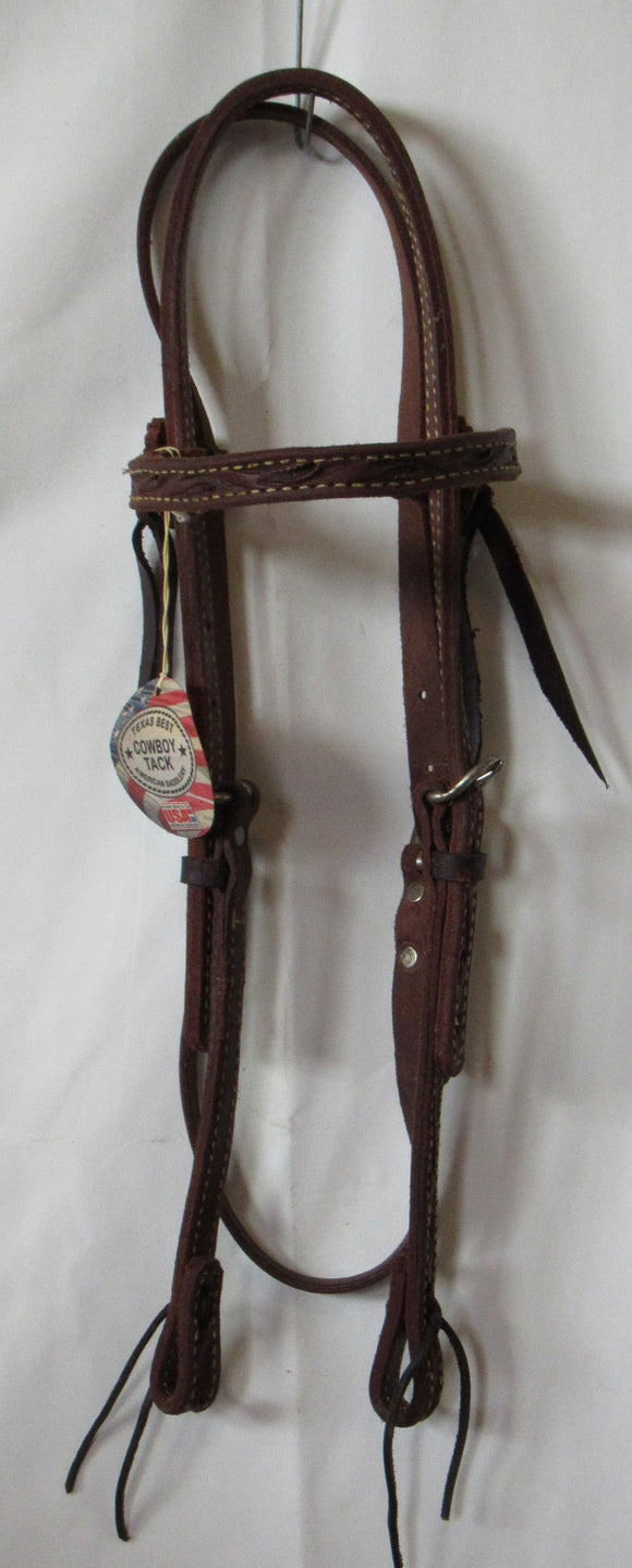 American Saddlery Swirl Browband Headstall Quarter Horse - [product_type} - Hamps Saddle & Tack