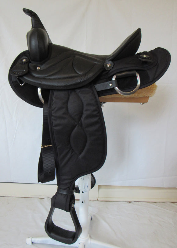 Big Horn Saddle 7958 15 inch seat Trail Saddle - [product_type} - Hamps Saddle & Tack