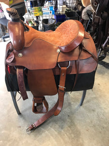 16 In Used Roping Saddle - [product_type} - Hamps Saddle & Tack