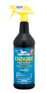 Endure Fly Spray for Horses - 32 oz - Chemicals - Barn Supplies - Hamps Saddle & Tack