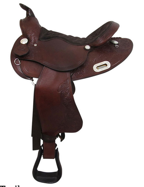 Big Horn Trail Saddle 908 - [product_type} - Hamps Saddle & Tack