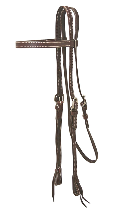 Cowboy Pro Browband Headstall - [product_type} - Hamps Saddle & Tack