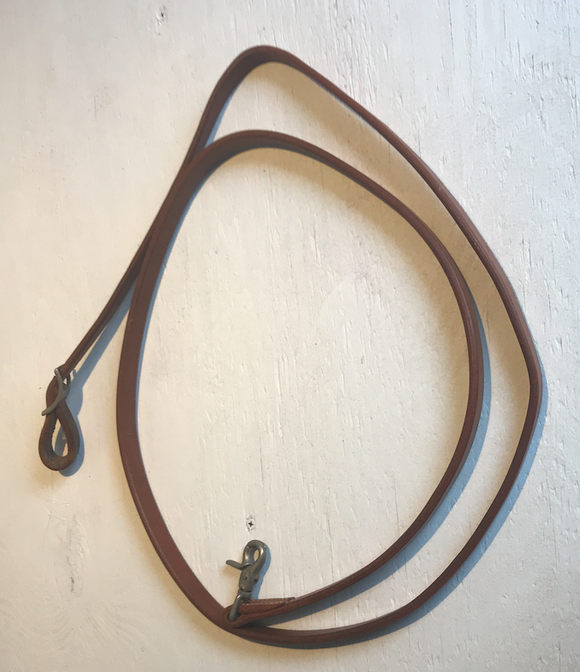5/8 one Piece Leather Rein - [product_type} - Hamps Saddle & Tack