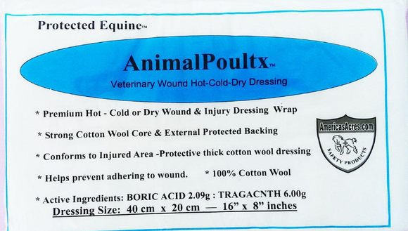 AnimalPoultx Veterinary Hot-Cold-Dry Poultice Wrap - [product_type} - Hamps Saddle & Tack
