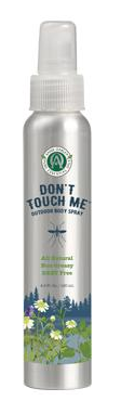 ANNIE OAKLEY DON'T TOUCH ME BUG SPRAY - [product_type} - Hamps Saddle & Tack