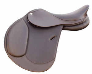 Arora Double Leather Saddle - [product_type} - Hamps Saddle & Tack