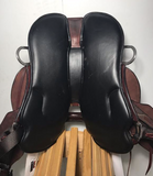 "17"" Big Horn Medium Small Hands Endurance Saddle 831 - [product_type} - Hamps Saddle & Tack"