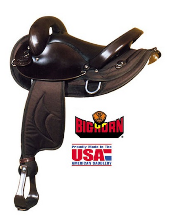 Big Horn No.118-16 & No. 117-16 ENDURANCE CORDURA SADDLE - [product_type} - Hamps Saddle & Tack