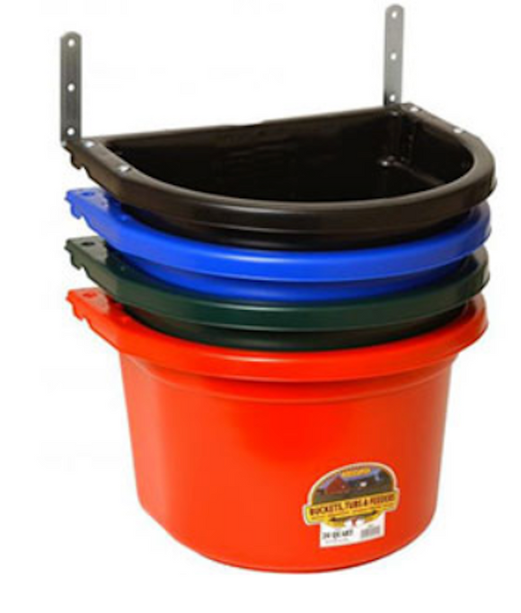 FENCE FEEDER WITH CLIPS - 20 QUART