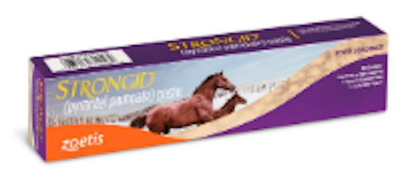 STRONGID® PASTE . (PYRANTEL PAMOATE) - [product_type} - Hamps Saddle & Tack