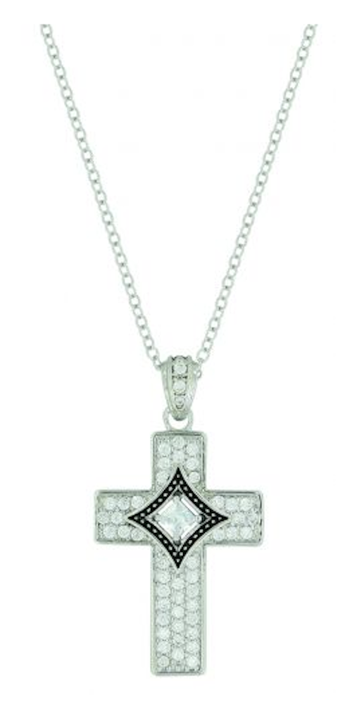 Montana Silversmiths Centered in Faith Cross Necklace