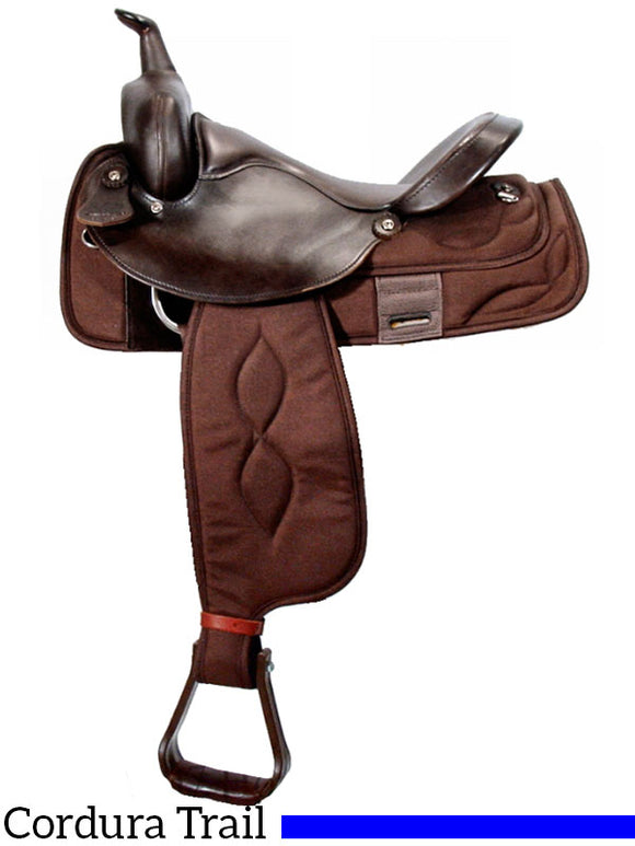 Big Horn Extra Wide Trail Saddle 306 - [product_type} - Hamps Saddle & Tack