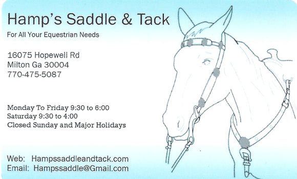 Gift Card - $25.00 - Gift Card - Barn Supplies - Hamps Saddle & Tack