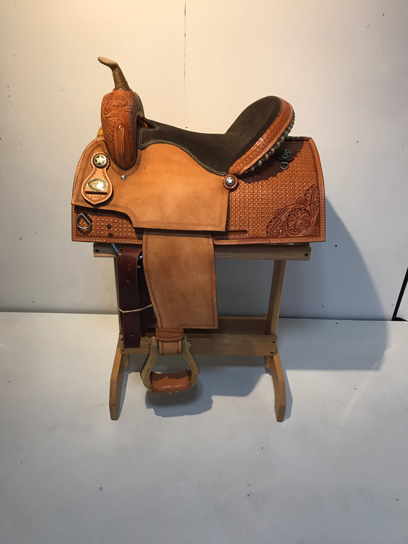 Texas Best Barrel Saddle 1189