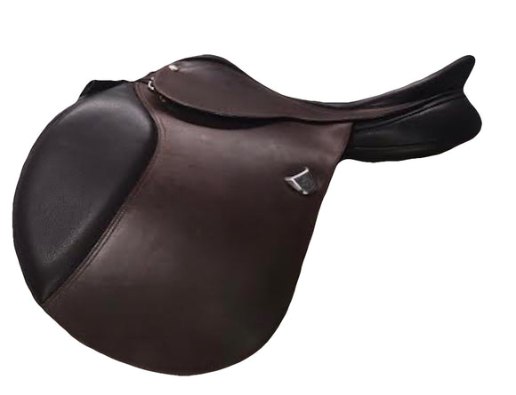 Bates Caprilli Close Contact Classic (Fwd) RearFB CAIR 17 inch - [product_type} - Hamps Saddle & Tack